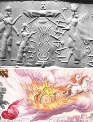 Adapa, and his brothers rocketed to Nibiru